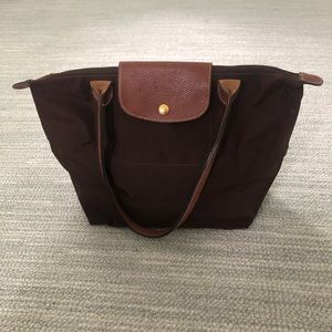 Longchamp | Le Pilage tote in brown